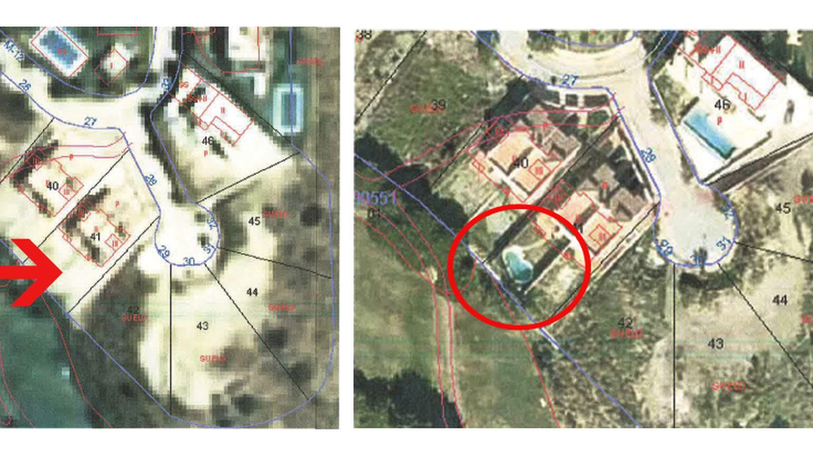 Foto: Las fotos de la piscina ilegal del 'número tres' del PSOE andaluz.