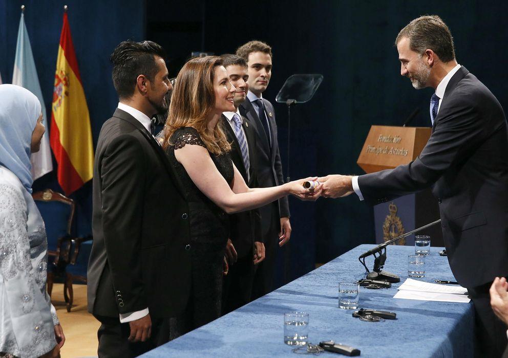 Foto: Ceremonia de entrega de los Premios Príncipe de Asturias 2014. (EFE)