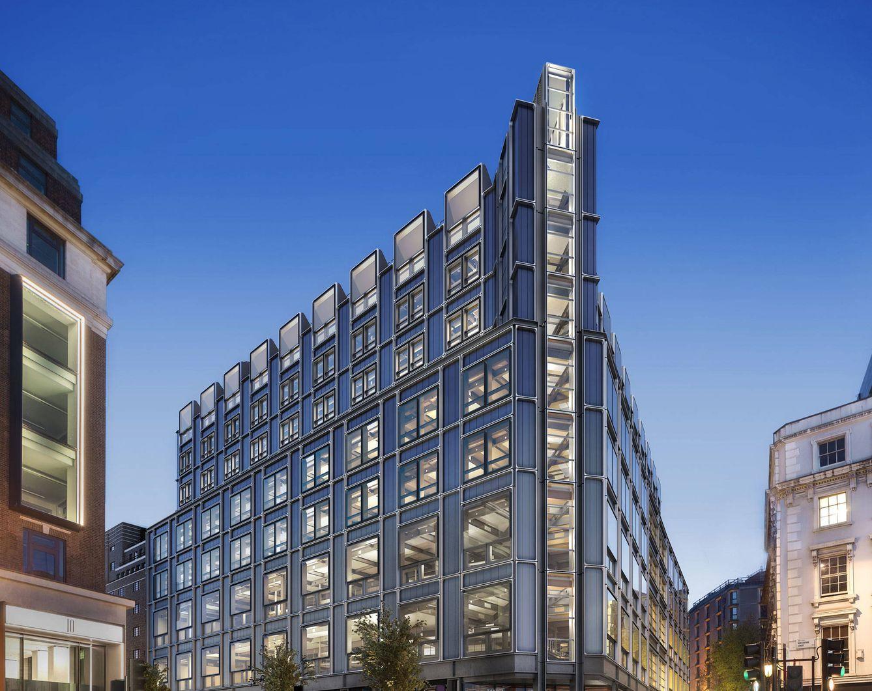 Foto: The Post Building, última compra de Amancio Ortega en Londres.