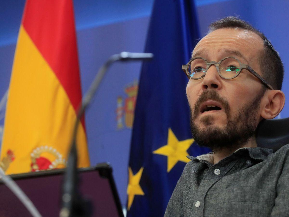 Foto: El portavoz de Unidas Podemos en el Congreso, Pablo Echenique. (EFE)