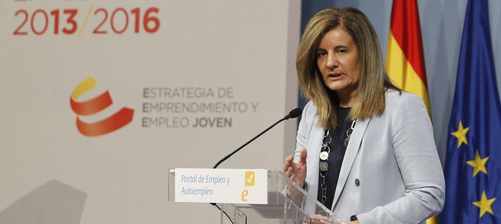 Foto: Fátima Báñez, ministra de Empleo (EFE)