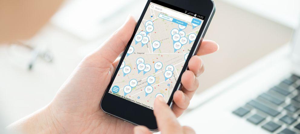 Foto: Una 'startup' que te permite reservar el parking desde el móvil (y ahorrar un 40%)