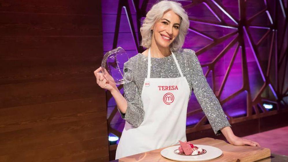 Foto: Teresa, concursante de 'MasterChef 7'. (RTVE)