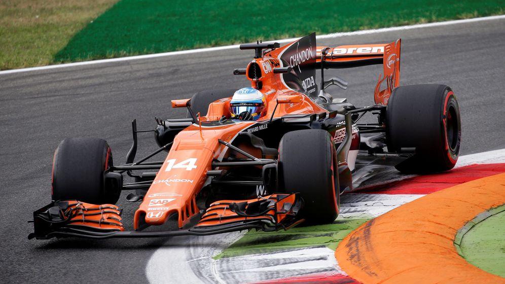 Foto: Fernando Alonso, GP de Italia (Reuters)