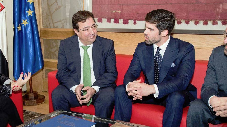 Guillermo Fernández-Vara junto a Fernando Palazuelo. (@GFVara)