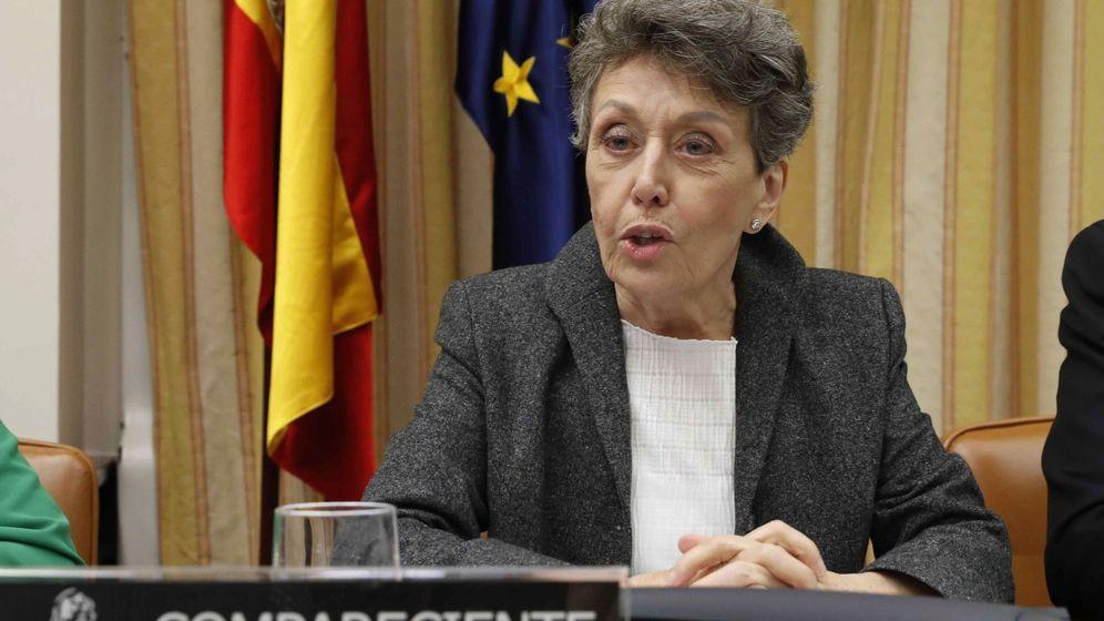 Foto: Rosa María Mateo en el Congreso. (EFE)