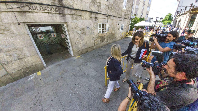 Foto: Marina Castaño a su llegada a los juzgados (Gtres)
