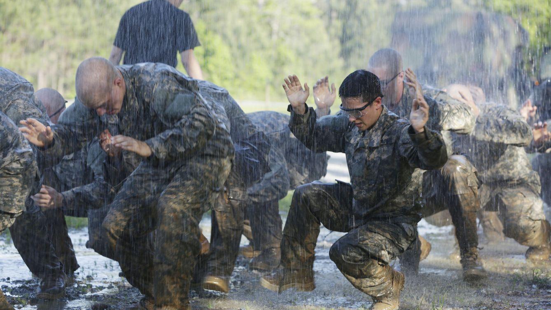 Foto: Soldados americanos en el curso militar de Fort Benning, el pasado mes de abril. (Reuters/US Army/sargento Paul Sale)