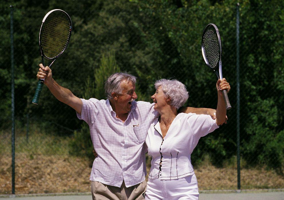 Foto: Practicar ejercicio físico con asiduidad hace que la gente se perciba a sí misma más joven. (Corbis)