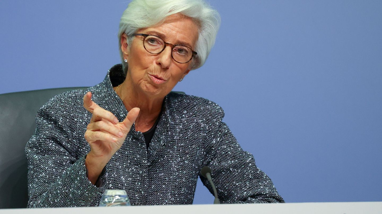 Christine Lagarde, presidenta del Banco Central Europeo (BCE). (Reuters)