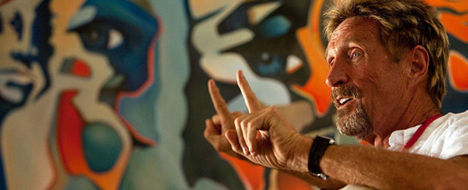 Foto: John McAfee, de 'rey del antivirus' a sospechoso de asesinato
