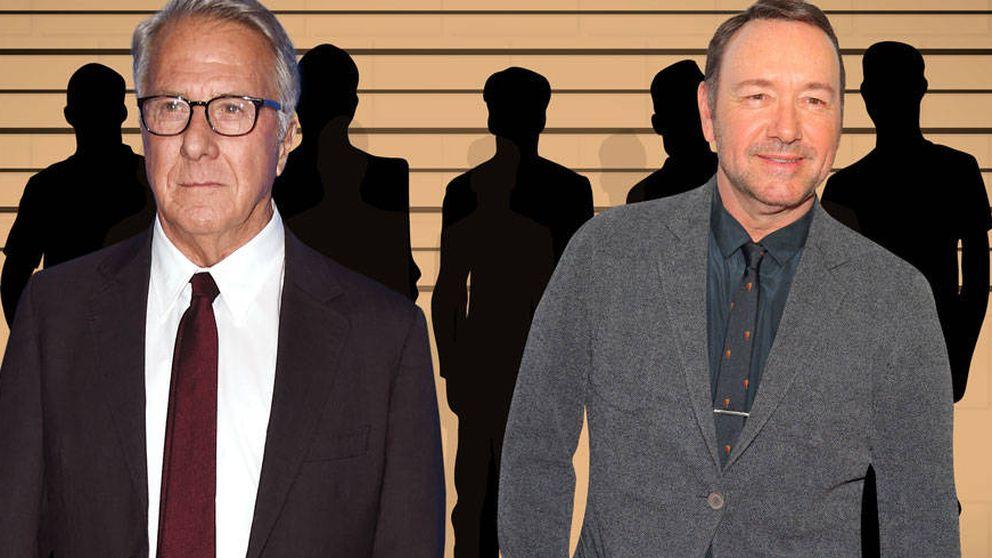 Kevin Spacey y Dustin Hoffman, 'sospechosos habituales' de acoso sexual