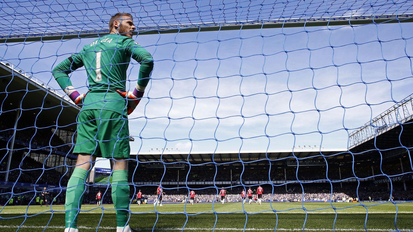 Foto: David de Gea, durante un partido con el Manchester United (EFE)