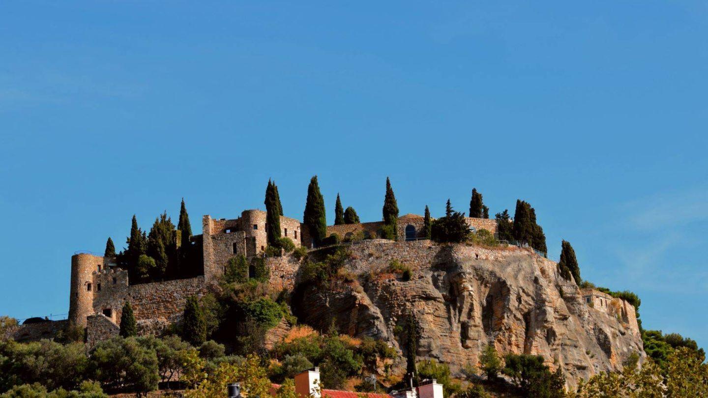 El castillo de Cassis, hoy un hotel. (Foto: Mateo Esteban)