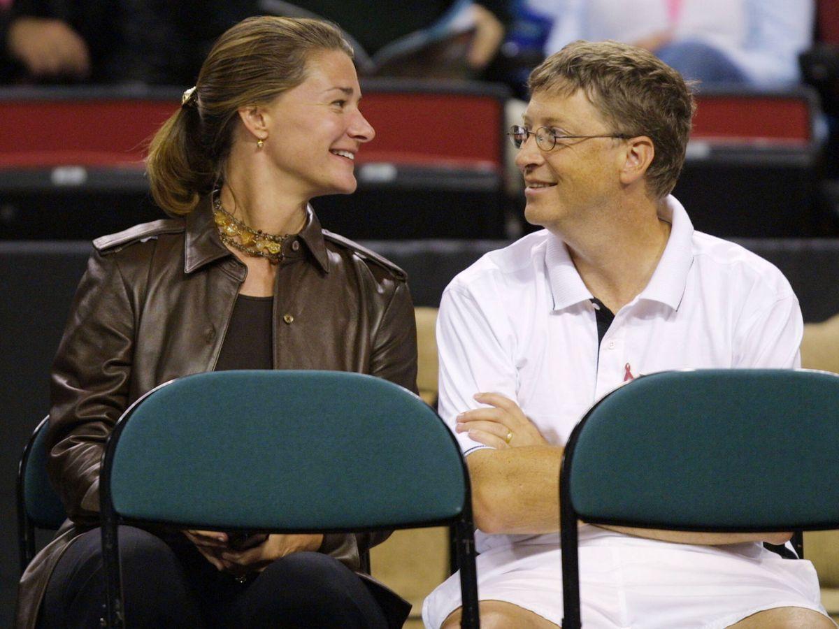 Foto: Melinda y Bill Gates en una imagen de archivo. (Getty)