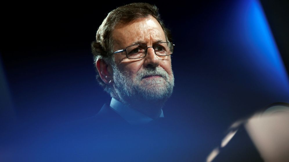 Foto: Mariano Rajoy en un acto de campaña del PP. (Reuters)