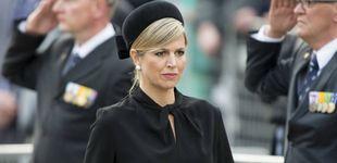 Post de Máxima de Holanda, destrozada en el entierro de su hermana