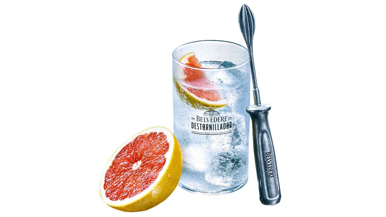 Foto: El 'Belvedere Destornillador', un refrescante combinado de vodka con naranja, lima o pomelo.