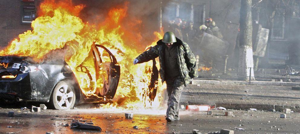 Foto: UEFA asegura al Valencia que los disturbios de Kiev no afectarán al partido del jueves.