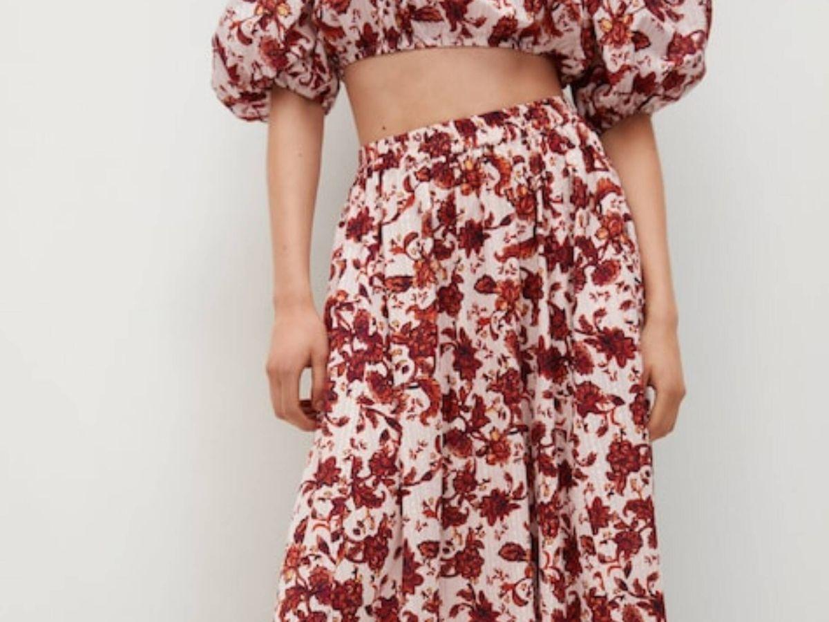 Foto: La falda de Mango. (Cortesía)