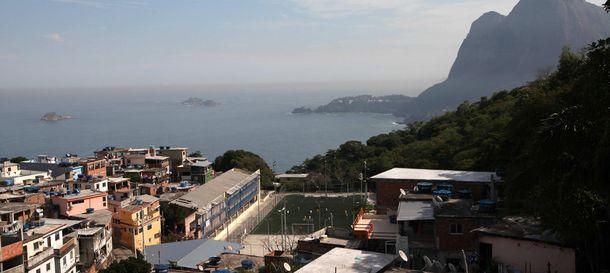 Foto: Favela Vidigal de Río de Janeiro (Efe)