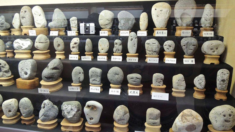 Foto: 1.700 rocas con formas sorprendentes están presentes en el museo japonés Chinsekikan.
