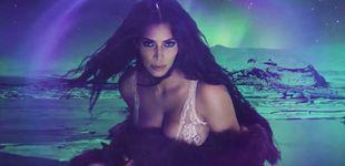 Post de Kim Kardashian reaparece tras su líos familiares desnuda en un picante vídeo