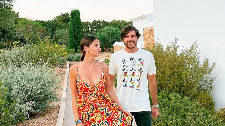 Álvaro Falcó y su pareja, Isabelle Junot. (Instagram)