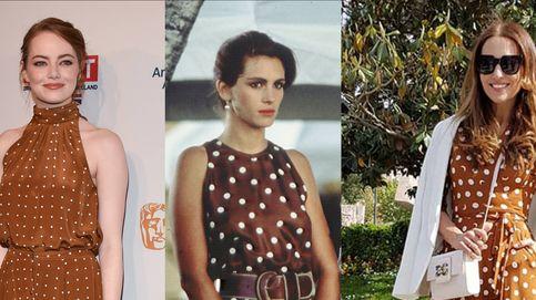 Paula Echevarría se apunta a la moda de los vestidos 'Pretty Woman'