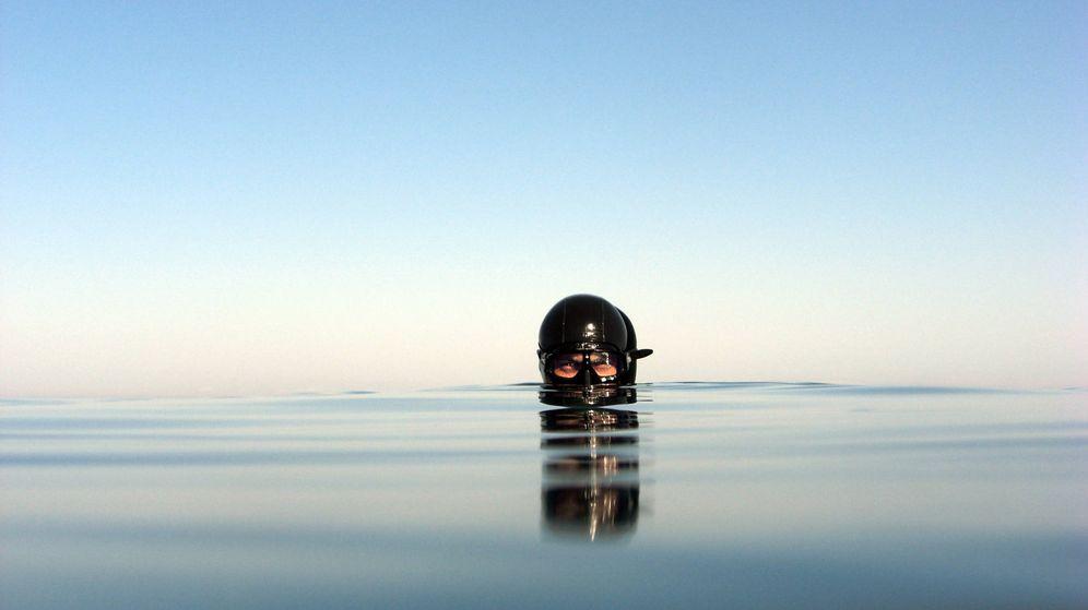 Foto: Miguel Lozano en su medio natural