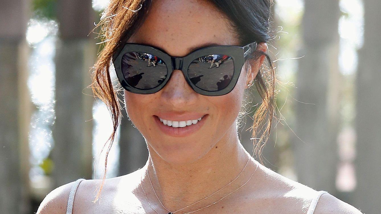Foto: La duquesa de Sussex en Fraser Island. (Reuters)