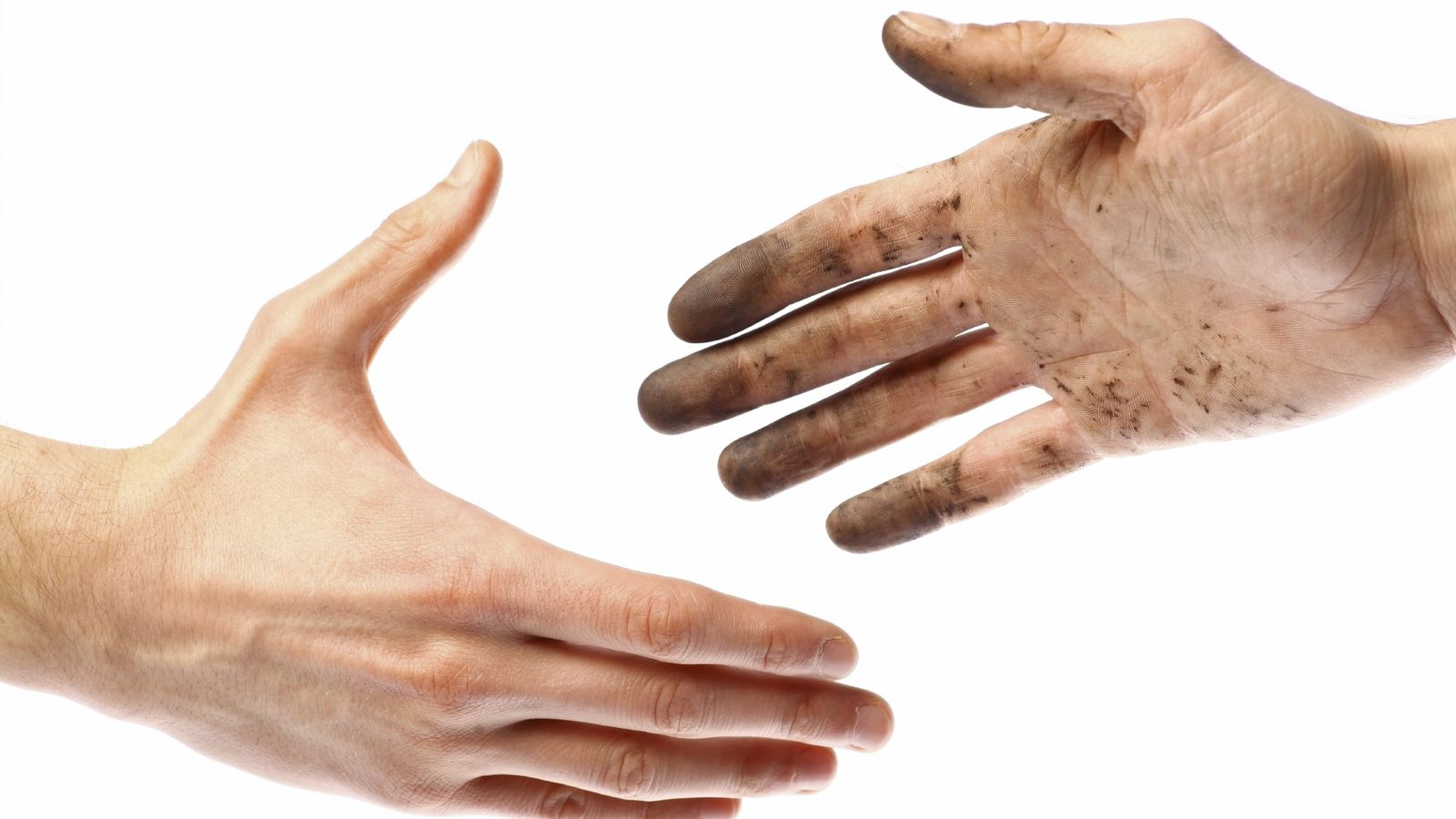 Foto: Mejor lávate las manos antes de andar saludando a la gente. (iStock)