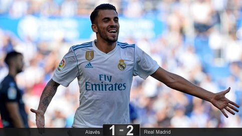 Ceballos se basta para remediar la falta de gol del Real Madrid en Vitoria