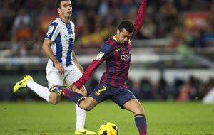 Pedro sale en defensa del Barça y considera injustas las críticas