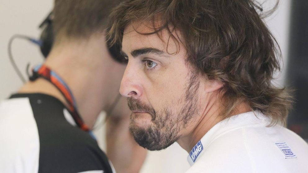 """Alonso: """"Me gustaría dar más pero estamos a lejos de los antepenúltimos"""""""