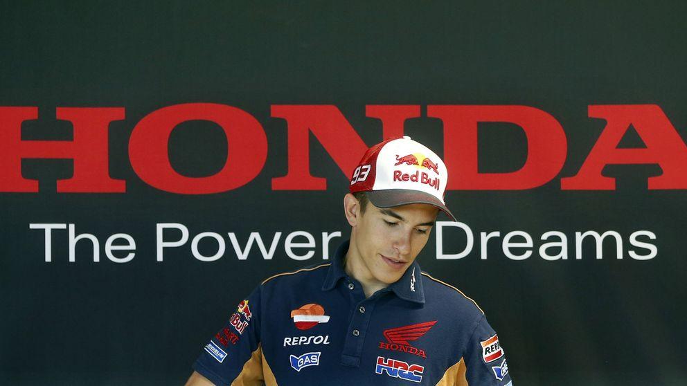 Marc Márquez renueva su contrato con Honda hasta 2018