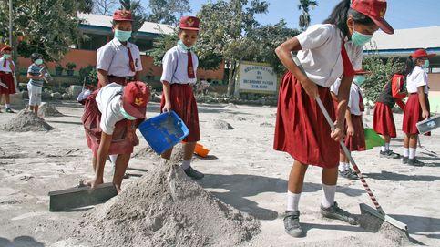 Las impresionantes imágenes que nos deja la erupción del Sinabung