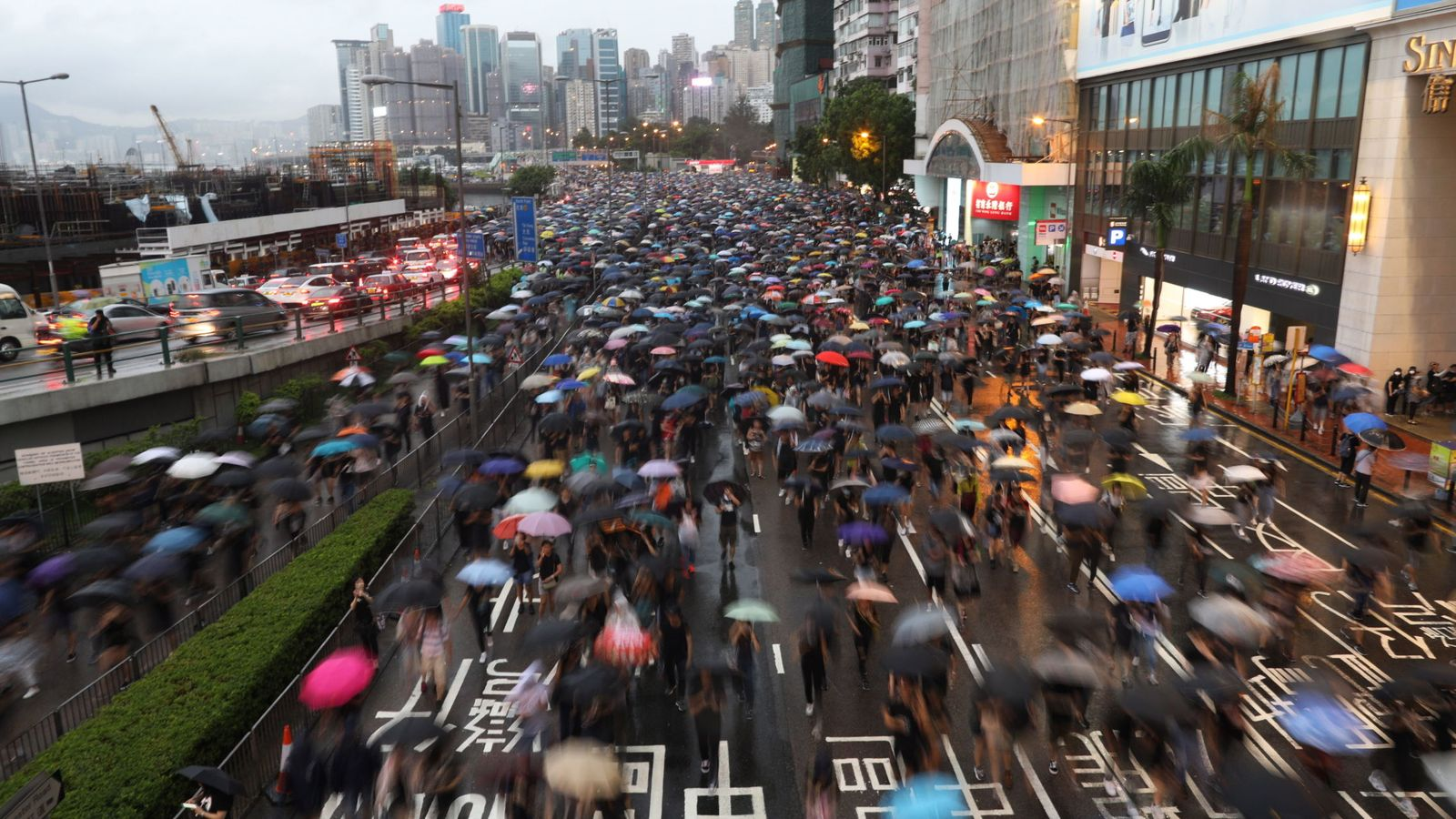 Foto: Protestas en Hong Kong. (Reuters)