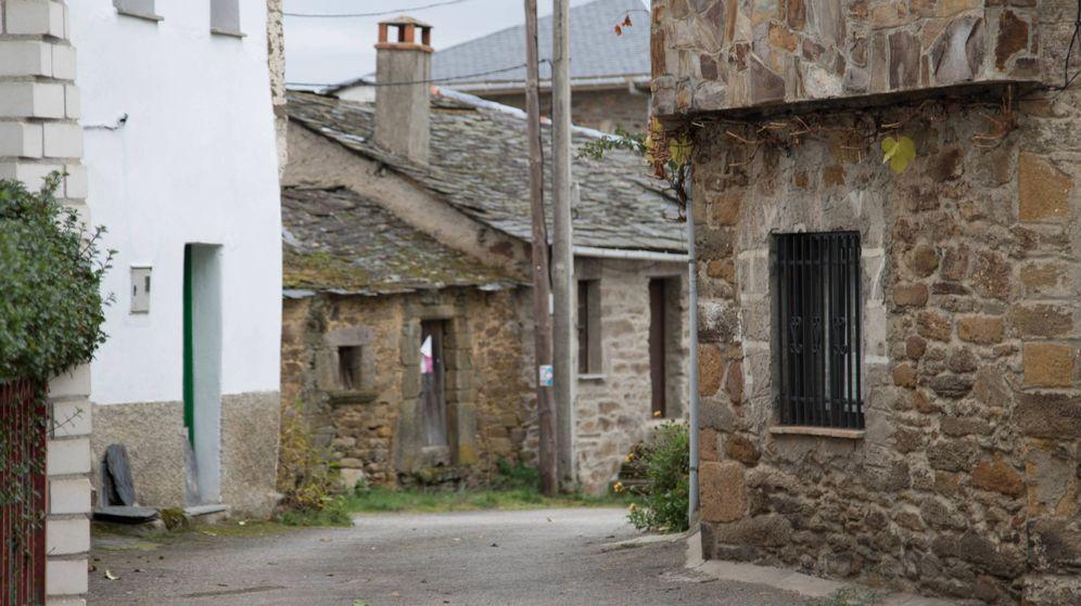 Foto: Una de las calles principales de Otero (J. Cerezo)