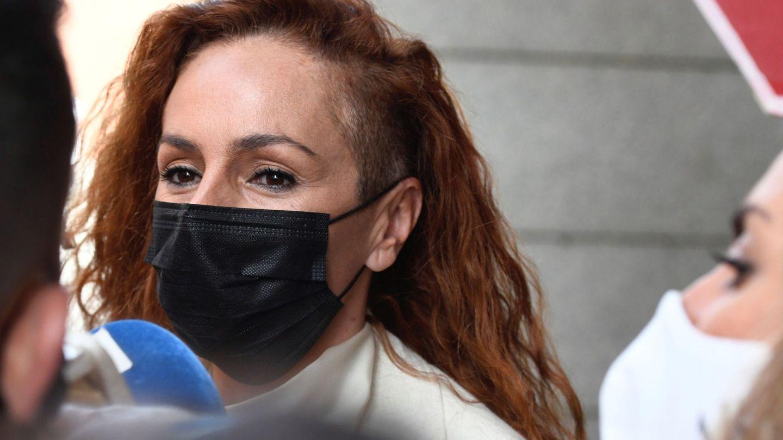 Rocío Carrasco, el pasado día 30 en el juicio que ha interpuesto Antonio David. (EFE)
