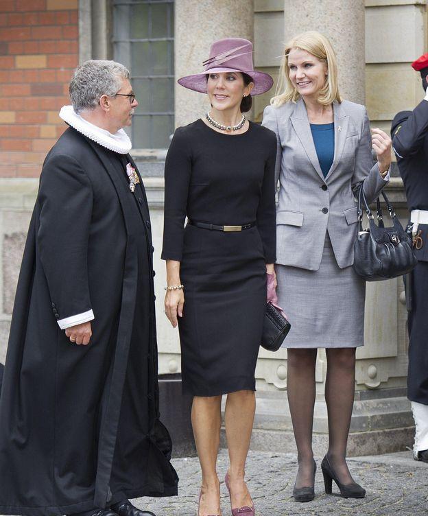 Foto: Mary de Dinamarca, junto a Helle Thorning-Schmidt
