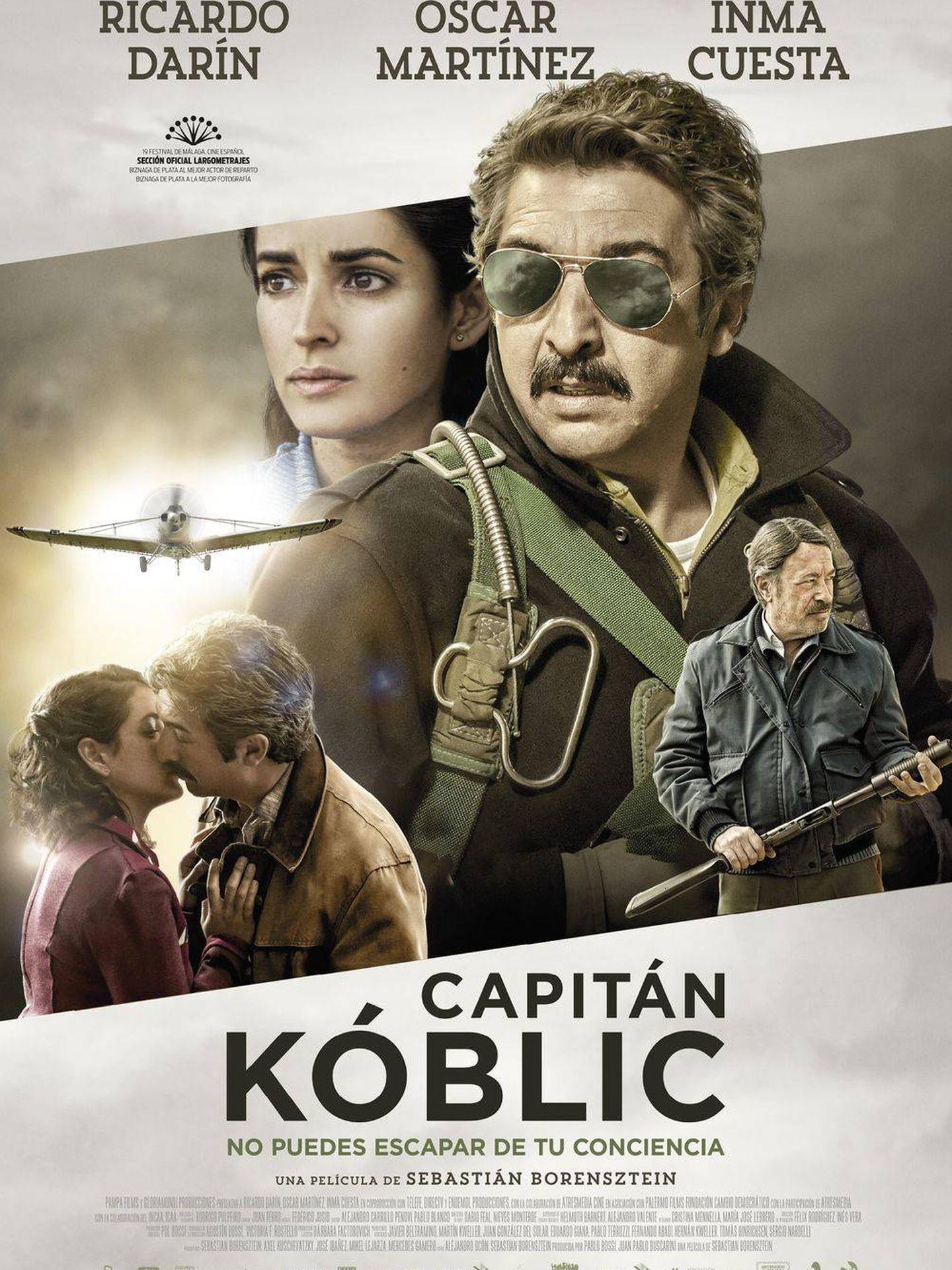 Cartel de 'Capitán Kóblic'.