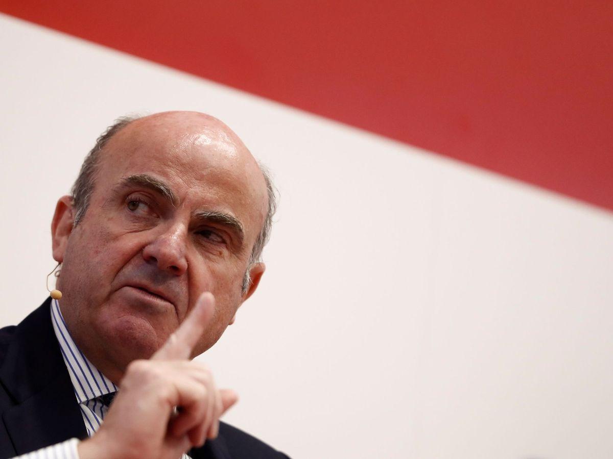 Foto: El vicepresidente del Banco Central Europeo, Luis de Guindos