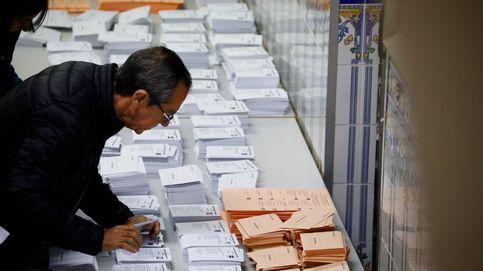 La participación cae con respecto al 28-A: el 38% de los censados vota a las 14:00