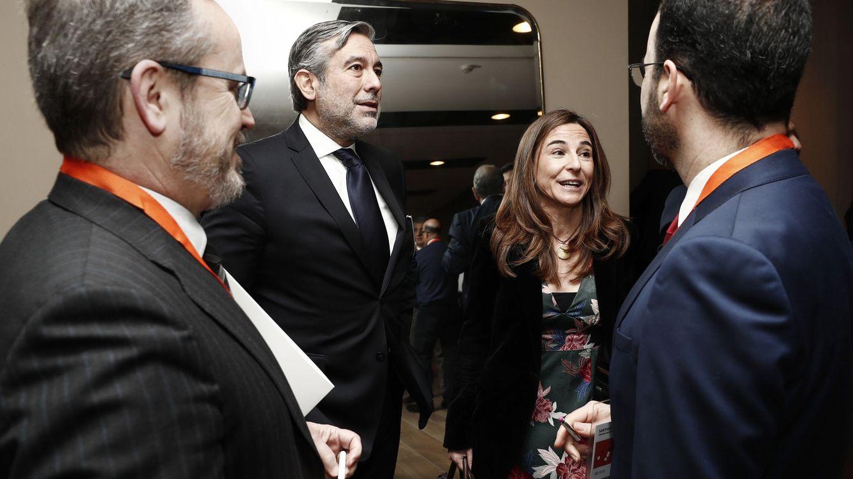 Foto: Enrique López (2i) en una foto de archivo. (EFE)