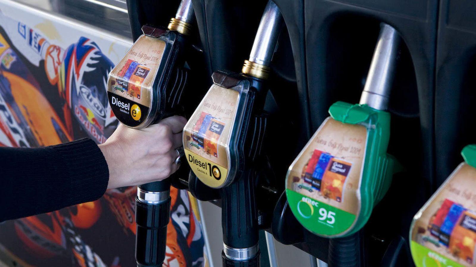 Foto: Gasolinera. (EFE)