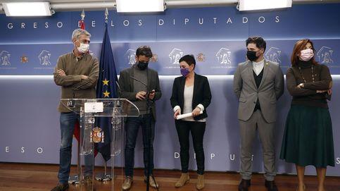 Unidas Podemos, ERC y Bildu retiran la enmienda antidesahucios tras el acuerdo