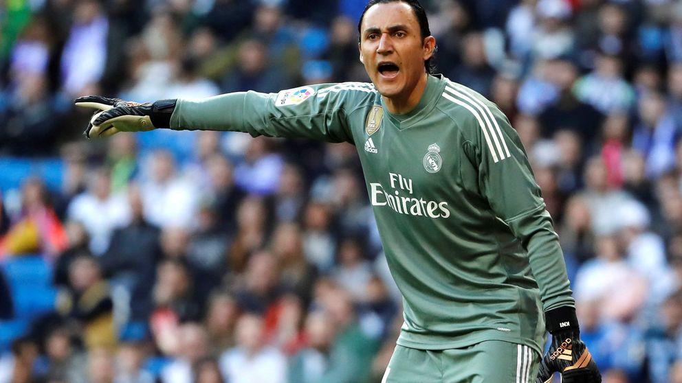 La fidelidad de Keylor Navas al Madrid complica su fichaje por Liverpool o Sevilla