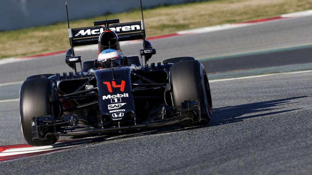 Hoy Fernando Alonso estará contento, el motor mejora constantemente