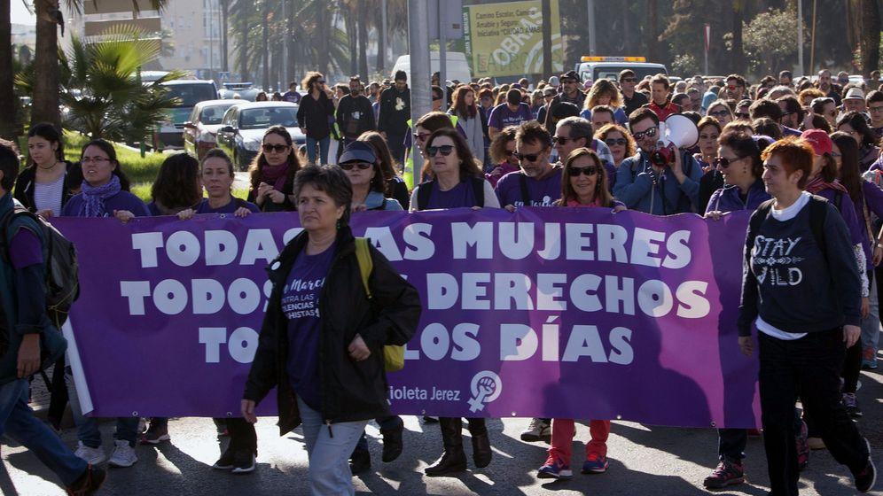 Foto: Manifestación contra la violencia machista. (EFE)